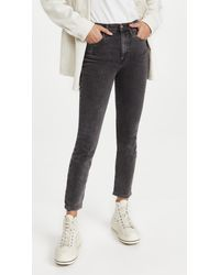 Pistola Denim Cara High Rise Vintage Skinny Jeans - Multicolour