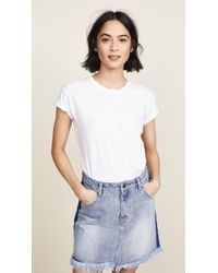 Madewell - Whisper Cotton Crew Tee - Lyst