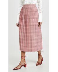 Marni Midi Skirt - Pink