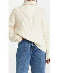 Anine Bing Sydney Sweater - White