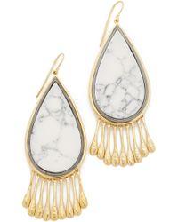 Aurelie Bidermann - Marble Earrings - Lyst