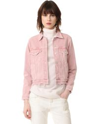 AMO - Pop Denim Jacket - Lyst