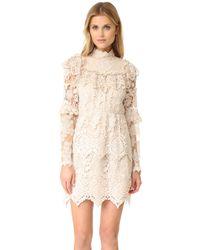 Anna Sui Romantique Lace Dress - Multicolour