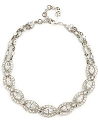 Ben-Amun - Embellished Choker Necklace - Lyst