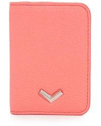 Botkier Soho Card Case - Pink