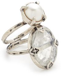 Chan Luu - Double Stone Ring - Lyst