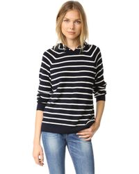 Chinti & Parker - Striped Hoodie - Lyst