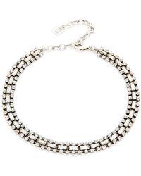 DANNIJO - Jihan Choker Necklace - Lyst