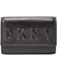 DKNY | Debossed Card Case | Lyst