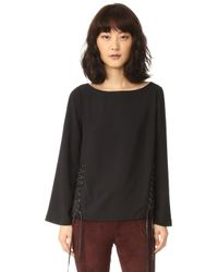 ELEVEN PARIS - Tower Blouse - Lyst