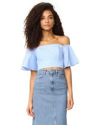 Fame & Partners - Cenit Off Shoulder Top - Lyst