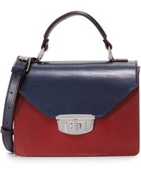 Ganni Colorblock Satchel - Multicolor