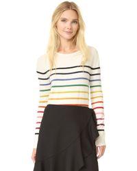 Goen.J | Rainbow Stripe Pullover | Lyst