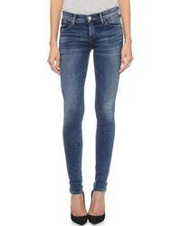 Goldsign Lure Skinny Jeans - Blue