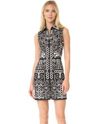Holly Fulton - Printed Cotton Dress - Lyst