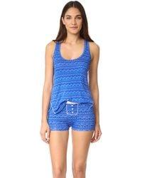 Honeydew Intimates - All American Shortie Pyjama Set - Lyst