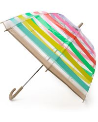 Kate Spade Stripes Umbrella - Multicolour