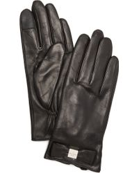 Kate Spade - Hardware Bow Texting Gloves - Lyst