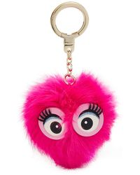 Kate Spade - Monster Pouf Pig Key Fob - Lyst