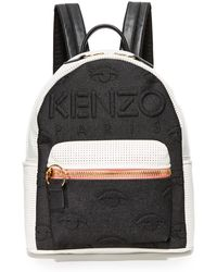 KENZO Neoprene Backpack - Black