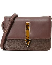 Karen Walker - Milly Leather Cross-Body Bag - Lyst