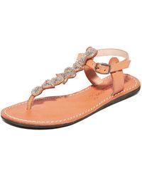 Laidbacklondon - Hague Flat Sandals - Lyst