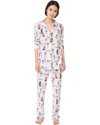 Love+Grace - Kittens And Puppies Cassie Pj Set - Lyst