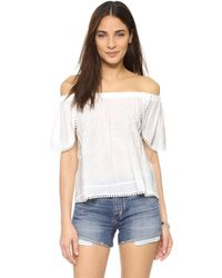 Liv - St. Jean Off Shoulder Top - Lyst