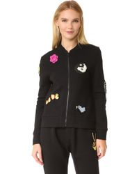 Michaela Buerger - Just Smile Sweatshirt Jacket - Lyst