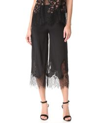 McQ Fluid Cropped Pants - Black