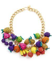 Mercedes Salazar - Tuti Fruti Chain Necklace - Lyst