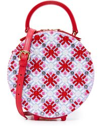 Mayra Fedane - Swarovski Embroidered Coco Circle Bag - Lyst