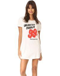 MINKPINK - Unlimited Cuddles Pajama Dress - Lyst