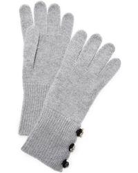 Marc Jacobs - Embellished Cashmere Gloves - Lyst