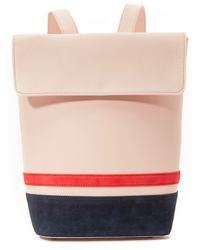Mother Of Pearl Small Bucket Backpack - Pink