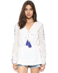 Pampelone - 55 Blouse - Lyst