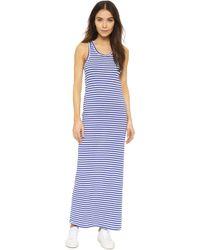 Petit Bateau - Striped Maxi Dress - Lyst