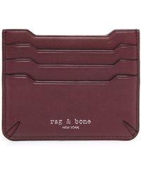 Rag & Bone Crosby Card Case - Brown