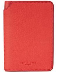 Rag & Bone Passport Cover - Multicolour