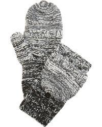 Rebecca Minkoff - Melange Degrade Pop Top Gloves - Lyst