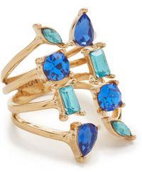 Rebecca Minkoff - Multi Stone Wrap Ring - Lyst