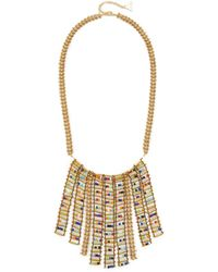 Serefina - Ladder Bib Necklace - Lyst