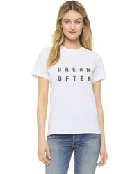 Sincerely Jules - Dream Often Tee - Lyst