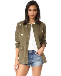 Sincerely Jules - Star Embroidered Jacket - Lyst