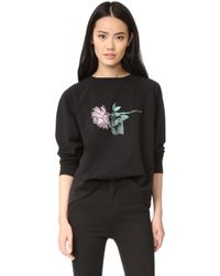6397   New Rose Sweatshirt   Lyst