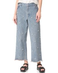 Sandy Liang - Ghost Jeans - Lyst