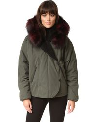 SOIA & KYO - Madelyn Parka With Fur - Lyst