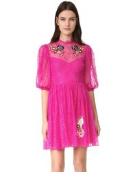 Temperley London - Leo Lace Mini Dress - Lyst