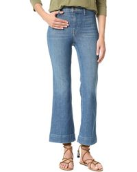The Great The Sea Crop Jeans - Blue