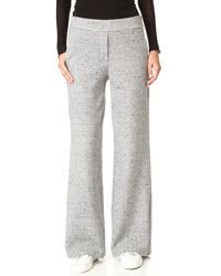 Theory Talbert Speckled Trousers - Grey